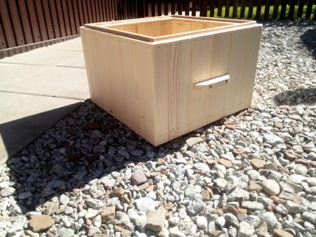 National beehive - brood box 14